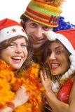 Persone felici Immagine Stock