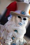 Maschera sul carnevale, piazza San Marco, Venezia, Italia Fotografia Stock Libera da Diritti