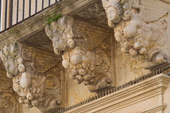 Persone Palace. Lecce. Puglia. Italy. Stock Photo