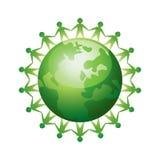 Persone in tutto il mondo unite Immagine Stock Libera da Diritti