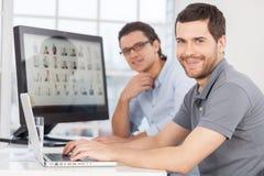 IT personel. Zdjęcie Stock