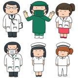 personel medyczny ilustracja wektor