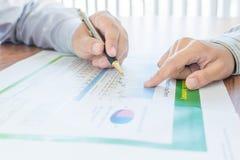 Personen in bedrijfssituatie Stock Foto