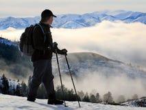 Personen-Wandern Stockfoto