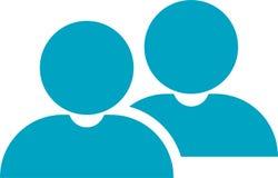 Personengesellschafts-Ikone Vektor Abbildung