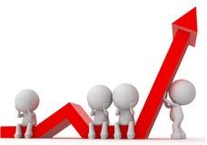 Personengewinnkrise Stockbilder