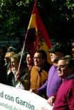 personer som protesterar 1 Arkivfoto