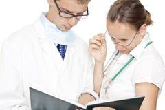 Persones médicos Imagen de archivo libre de regalías