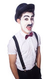 Personification of Charlie Chaplin Royalty Free Stock Images