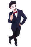 Personification of Charlie Chaplin Stock Photo