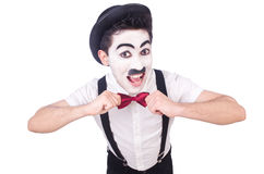 Personification of Charlie Chaplin Royalty Free Stock Photo