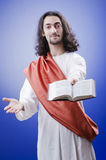 Personification of Jesus Christ Stock Image