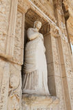 Personification of Virtue, Arete Statue in Ephesus Ancient City Royalty Free Stock Image