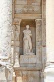 Personification of Wisdom Statue in Ephesus Ancient City. Izmir, Turkey stock photos