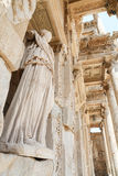 Personification of Wisdom Statue in Ephesus Ancient City. Izmir, Turkey royalty free stock photography