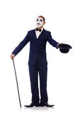 Personifikacja Charlie Chaplin Obrazy Royalty Free