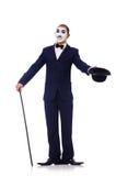 Personifikation av Charlie Chaplin Royaltyfria Bilder