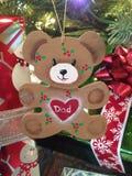 Personifizierter Weihnachtsbaumschmuck Stockbild