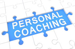 Personlig coachning vektor illustrationer