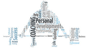 Personlig coachning Fotografering för Bildbyråer
