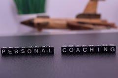 Personlig coachning på träkvarter royaltyfria foton