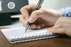 Personlig dagbok Arkivfoto