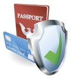 personlig säkerhet för identitet Arkivbilder