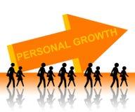Personlig tillväxt Fotografering för Bildbyråer