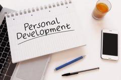 personlig utveckling royaltyfri bild