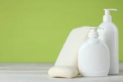 personliga produkter för hygien Arkivbild