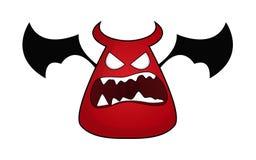 Personnage de dessin animé de diable Photo stock