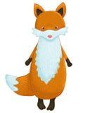 Personnage de dessin animé de Fox illustration stock