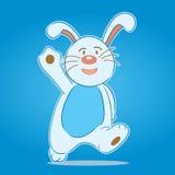 Personnage de dessin animé de lapin Photographie stock libre de droits