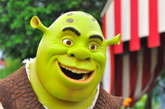 Personnage de dessin animé de Shrek Image stock