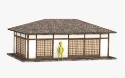 maison japonaise photos stock inscription gratuite. Black Bedroom Furniture Sets. Home Design Ideas