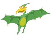 Personnage de dessin animé Dino Images stock