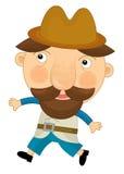 Personnage de dessin animé - illustration pour les enfants Photo stock