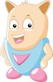 Personnage de dessin animé mignon Photo stock