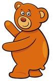 Personnage de dessin animé mignon d'ours de nounours Illustration Stock