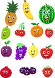 Personnage de dessin animé de fruit Image stock