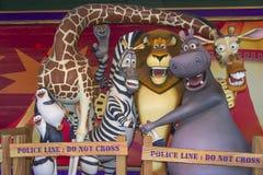 Personnage de dessin animé du Madagascar Image libre de droits