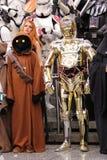 Personnage dos Star Wars no engodo cômico em Montreal Fotografia de Stock