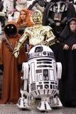 Personnage dos Star Wars no engodo cômico em Montreal Fotografia de Stock Royalty Free