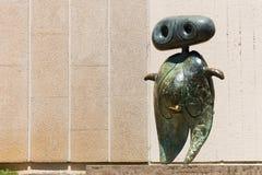 Personnage 1970 - Joan Miro - Barcelona Stock Foto