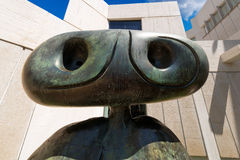 Personnage 1970 - Joan Miro - Barcelona Royalty Free Stock Photo