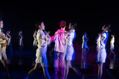 Personnalité et vulgarisation 4--Âne de drame de danse obtenir l'eau photos libres de droits