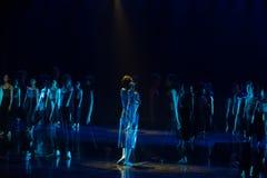 Personnalité et vulgarisation 5--Âne de drame de danse obtenir l'eau photo libre de droits