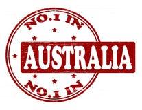 Personne dans l'Australie illustration stock