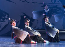 """Personne-disque de fourmi des rêves du sud d'opera""""four de Branche-Jiangxi de  de linchuan†Images libres de droits"""