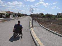 Personne handicapée image libre de droits